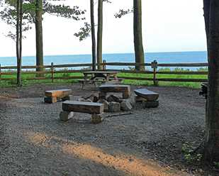 Pitch your tent at Lake Metroparks