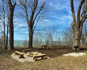 Pitch a tent at Lake Metroparks
