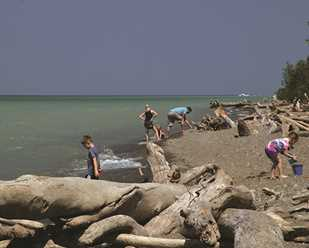 Best of the Bluffs: A Natural Beach
