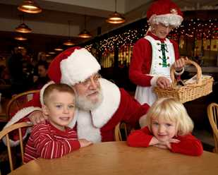 Breakfast/Lunch with Santa