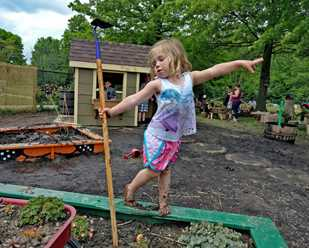 Nature Play at Penitentiary Glen