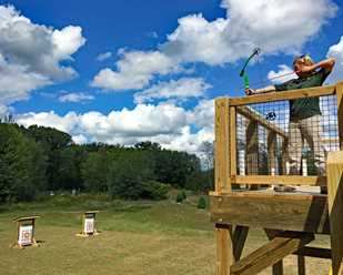 New Archery Range at Hidden Lake