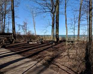 Lake Erie Bluffs Campsite A