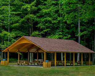Hell Hollow Wilderness Area Shelter
