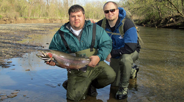 Fish for free this weekend at lake metroparks lake for Wilson river fishing report