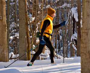 Cross-country skiing/snowshoeing