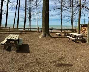 Lake Erie Bluffs Campsite B