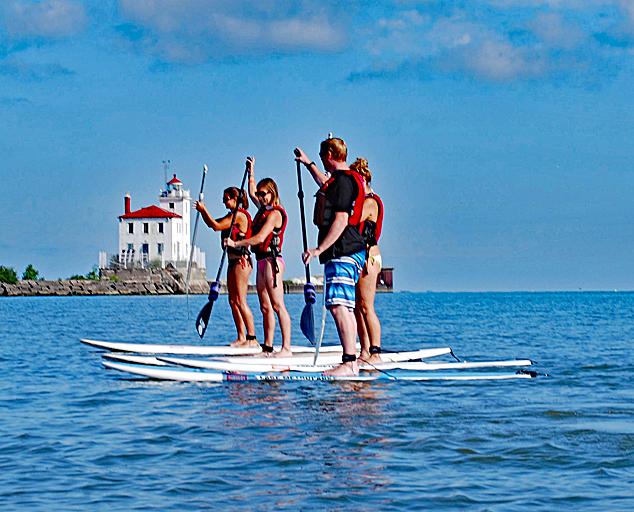 Fairport Harbor Lakefront Park Lake Erie Beaches Metroparks