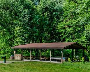 Lakeshore Reservation<br>Shadyside East Shelter